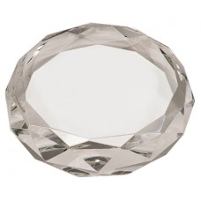 CRY6613  Round Crystal Paperweight
